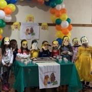 2º Ano do EF realiza festa para Cachinhos Dourados