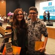 Estudante ganhador do Concurso de Redação-SINEPE/DF