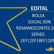 Bolsa Social 2019 - Vagas Remanescentes