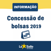 Concessão de Bolsas 2019