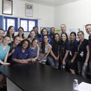 La Salle Esmeralda recebe a visita do Vigário Geral
