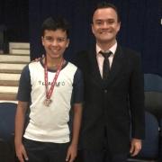 Aluno do EF II é medalha de prata na OBMEP