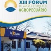 XIII Fórum de Aperfeiçoamento Agropecuário
