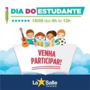 Dia do Estudante na Escola La Salle Esmeralda