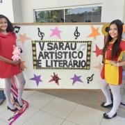 V Sarau Artístico e Literário do Colégio La Salle