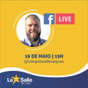 19/5: Acompanhe a live pelo facebook do Colégio