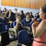 Palestra sobre DSTs para alunos do EM