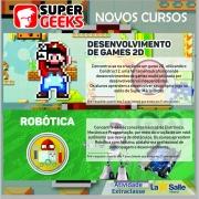 A SuperGeeks lança novos cursos no Colégio