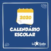 La Salle São João divulga Calendário Escolar 2020