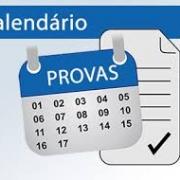 Calendário de Provas do 3º Trimestre!