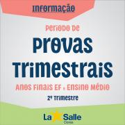 Período de Provas Trimestrais | 2º Trimestre