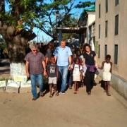 Irmão Provincial em visita a Moçambique