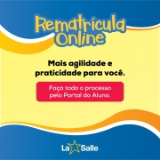 Rematrículas on line