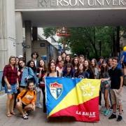 Estudantes fazem viagem de intercâmbio para o Canadá
