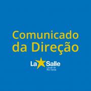 Comunicado da Direção - 14/04/2020