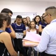 Ensino Médio visita cursos de Medicina e Direito