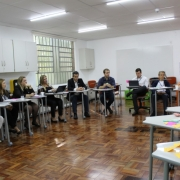 Equipe Provincial visita o Colégio