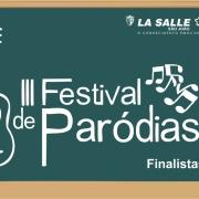 Divulgados os finalistas do III Festival de Paródias