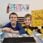 Turmas do 1° ano EF participam da Festa do Caderno
