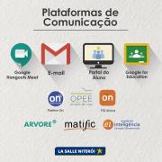 Plataformas de Comunicação e Estudos Domiciliares