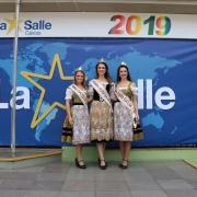Soberanas da Festa da Uva 2019 visitam o La Salle