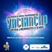 Atenção para a vacinação contra o HPV e Meningite C