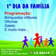Saiba mais: Dia da Família!