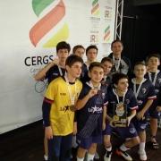 Futsal masculino é destaque em campeonato estadual