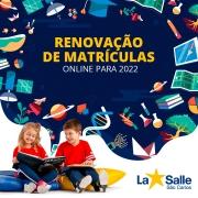Renovação de Matrículas Online 2022