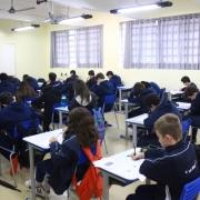 Estudantes participam da 1ª Fase da OBMEP 2018