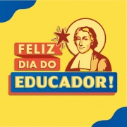 Homenagem para o dia do Educador