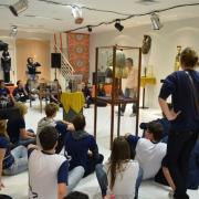 Alunos visitam Museu Egípcio Itinerante.