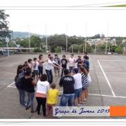 Primeiro encontro do Grupo de Jovens em 2013