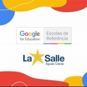 Conquistamos o Selo Escola de Referência Google