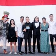 Estudantes premiados do Arte do Palco