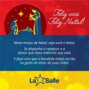 La Salle São João deseja um Feliz Natal!