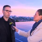 Energia Solar do LSSA é destaque no BandCidade