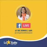 17/6: Acompanhe a live pelo facebook do Colégio