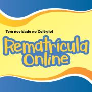 Rematrícula Online via Portal do Aluno
