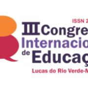 III Congresso Internacional de Educação