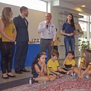 1º ano/EF realiza exposição no Ministério Público