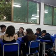 Estudantes participam de Grupo de Debates