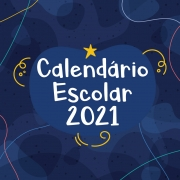 Calendário Escolar 2021