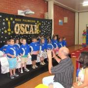 Formatura da Educação Infantil em clima de Oscar