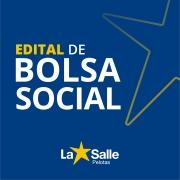 EDITAL DE BOLSA SOCIAL 2020 - 1º ANO