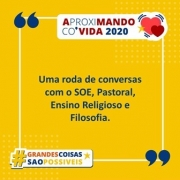 Roda de Conversa - AproxiMANDO co'VIDA 2020