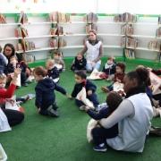 Creche 1 realiza primeira visita a Biblioteca