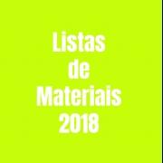 Listas de Materiais - 2018