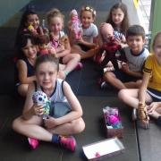 Dia do brinquedo na Colônia de Férias