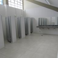 Banheiros e Vestiários do Ginásio de Esportes